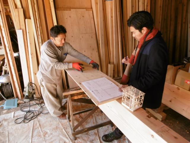 木の加工場