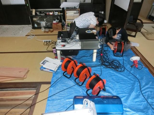 固有周期調査による耐震計画