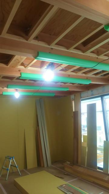 「敷地75坪・縁側の家」~もうすぐ木工事が完了 ~
