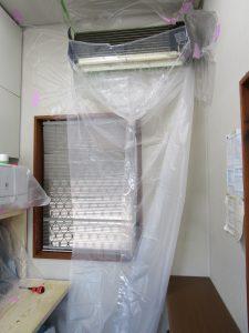 榊住建事務所のエアコンを洗浄しました。