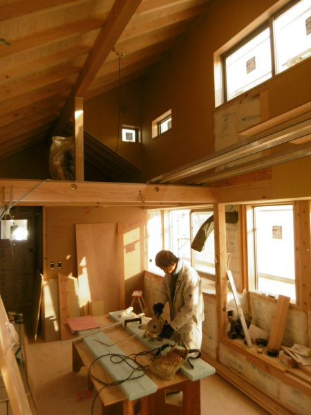 「杉並の家」~造作工事~