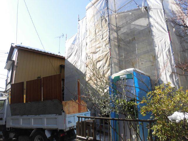 「住み替えリノベ」 解体と調査