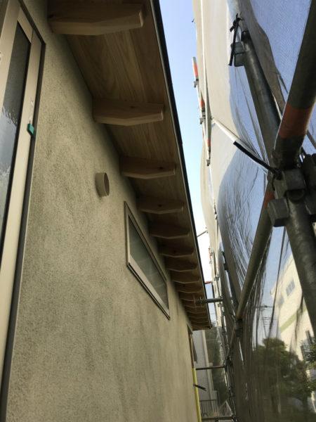 「平屋の家」~外壁仕上げ~
