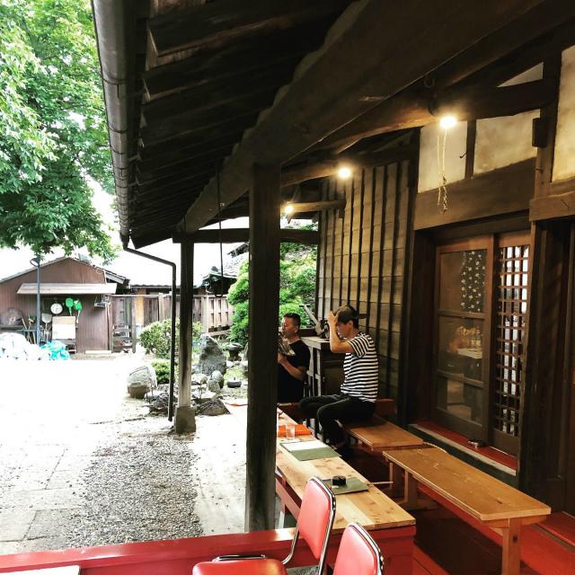 日本茶喫茶  「楽風」さん   ~テラス席を増築しました~