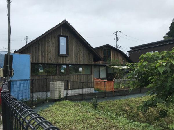 「緑と暮らす家」~足場解体~