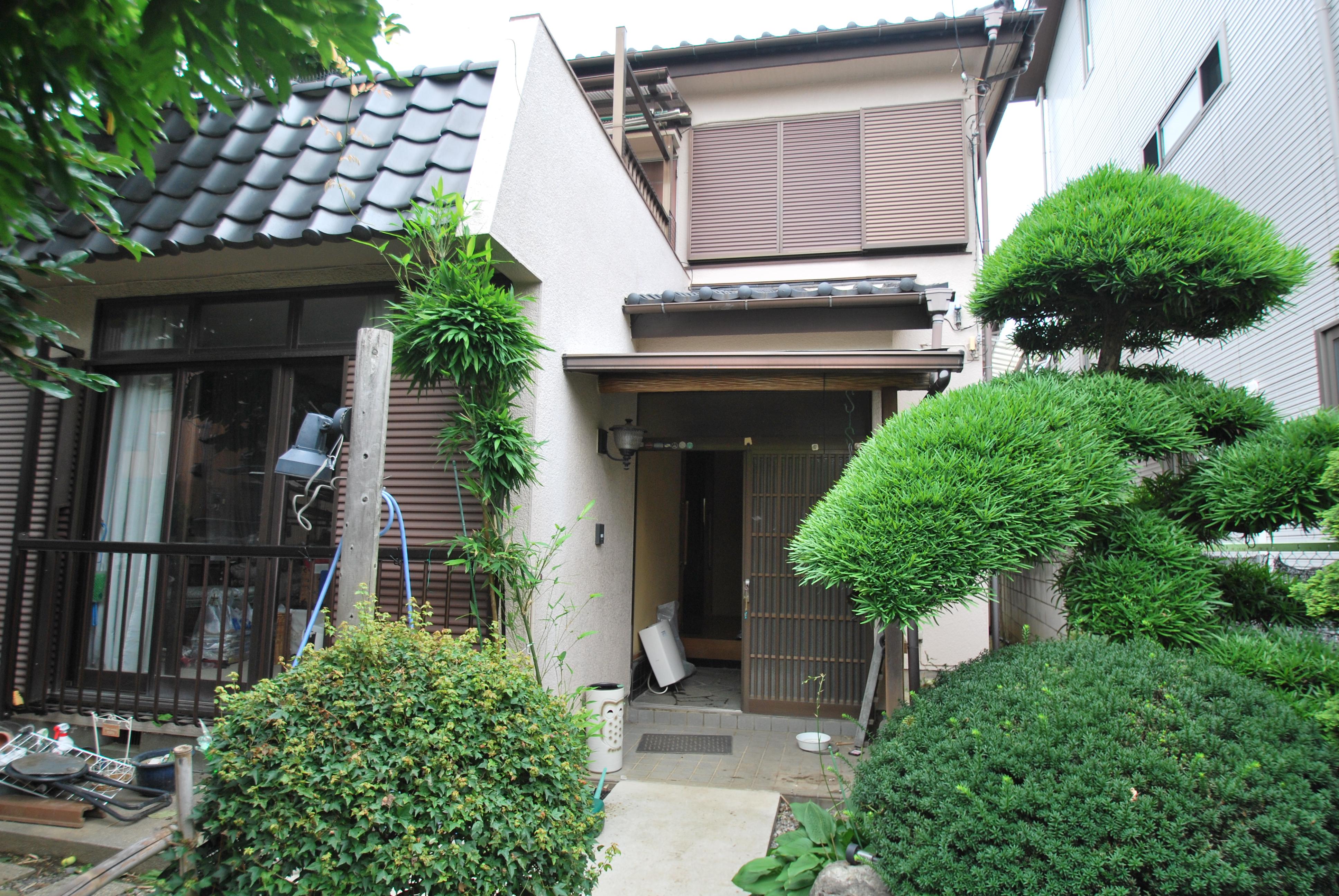 「藤棚を眺める家」~木工事~