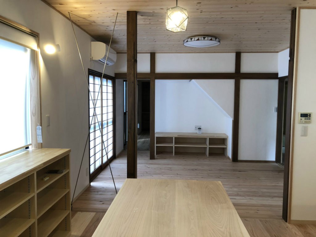 「二世帯住宅リノベ」 ~1期工事完成~