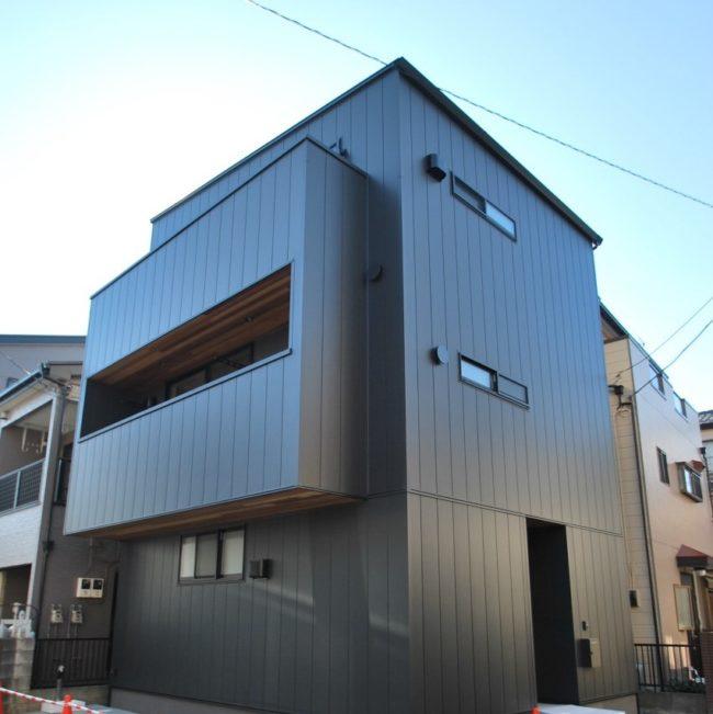 「光階段の家」 ~竣工間近~