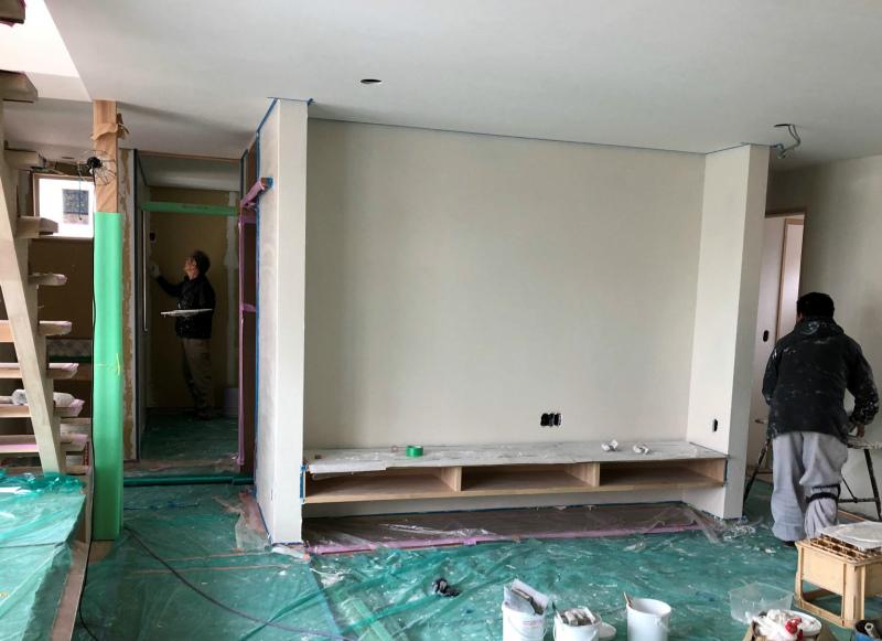「ヨリソイの家」~内装工事~