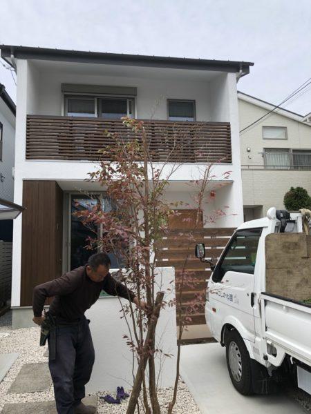 「オクミチの家」~植栽工事~