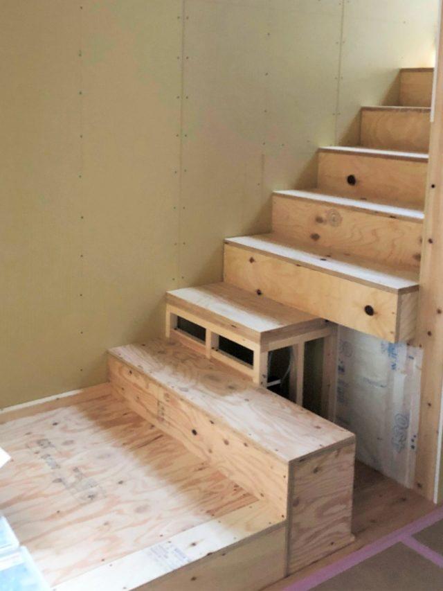 「キョウリョクの家」~階段制作~