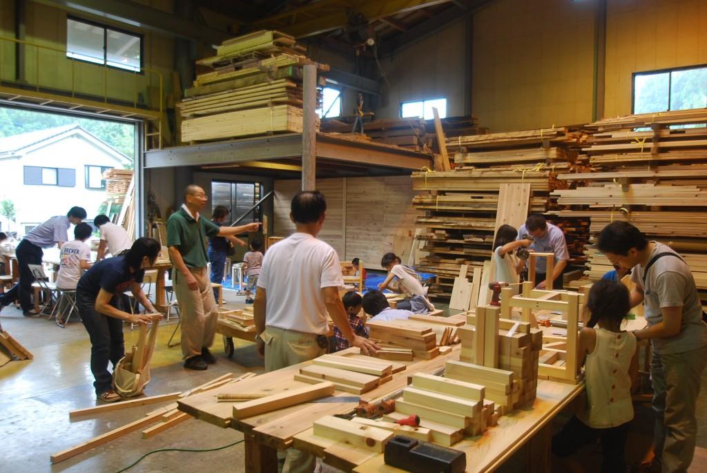 8/27 『夏休み木工教室 in飯能』…終了しました。
